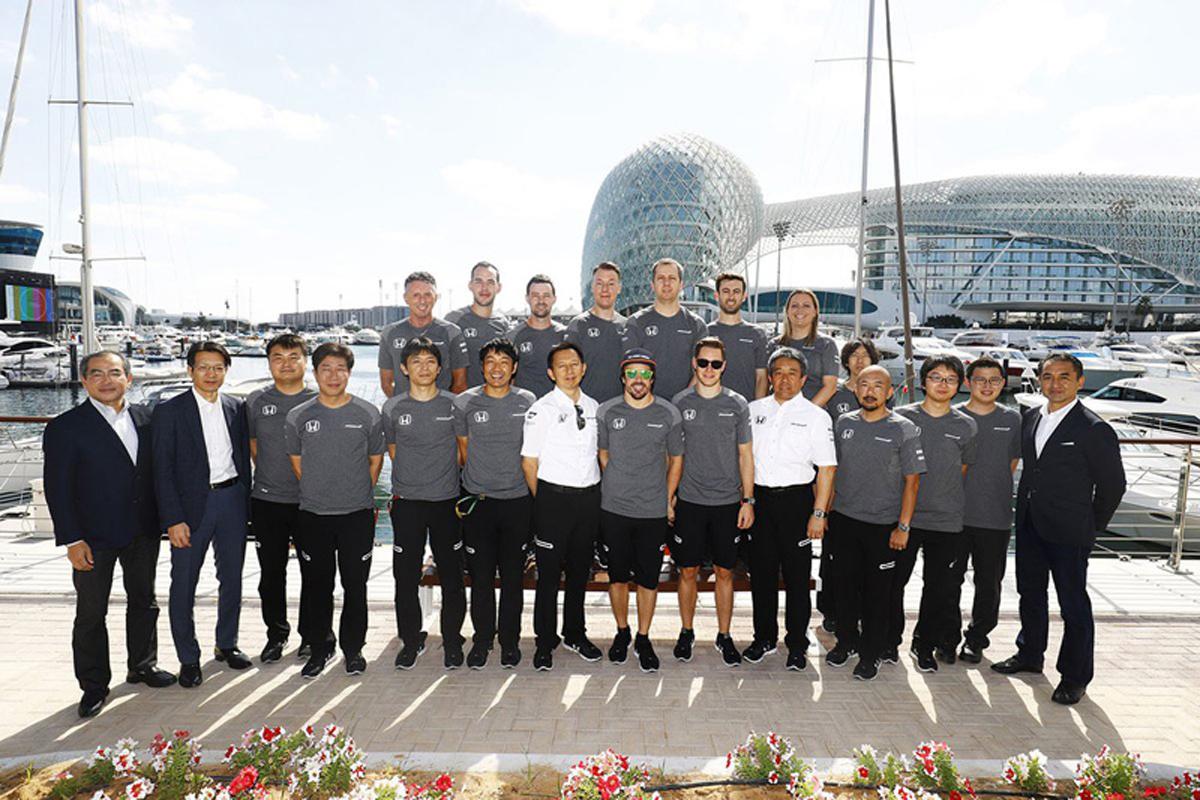 マクラーレン ホンダF1 アブダビグランプリ F1