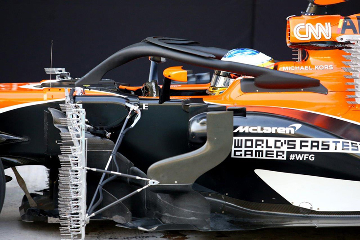 マクラーレン F1 アブダビグランプリ
