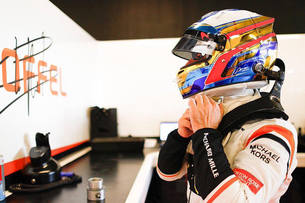 フェルナンド・アロンソ マクラーレン F1 アブダビグランプリ