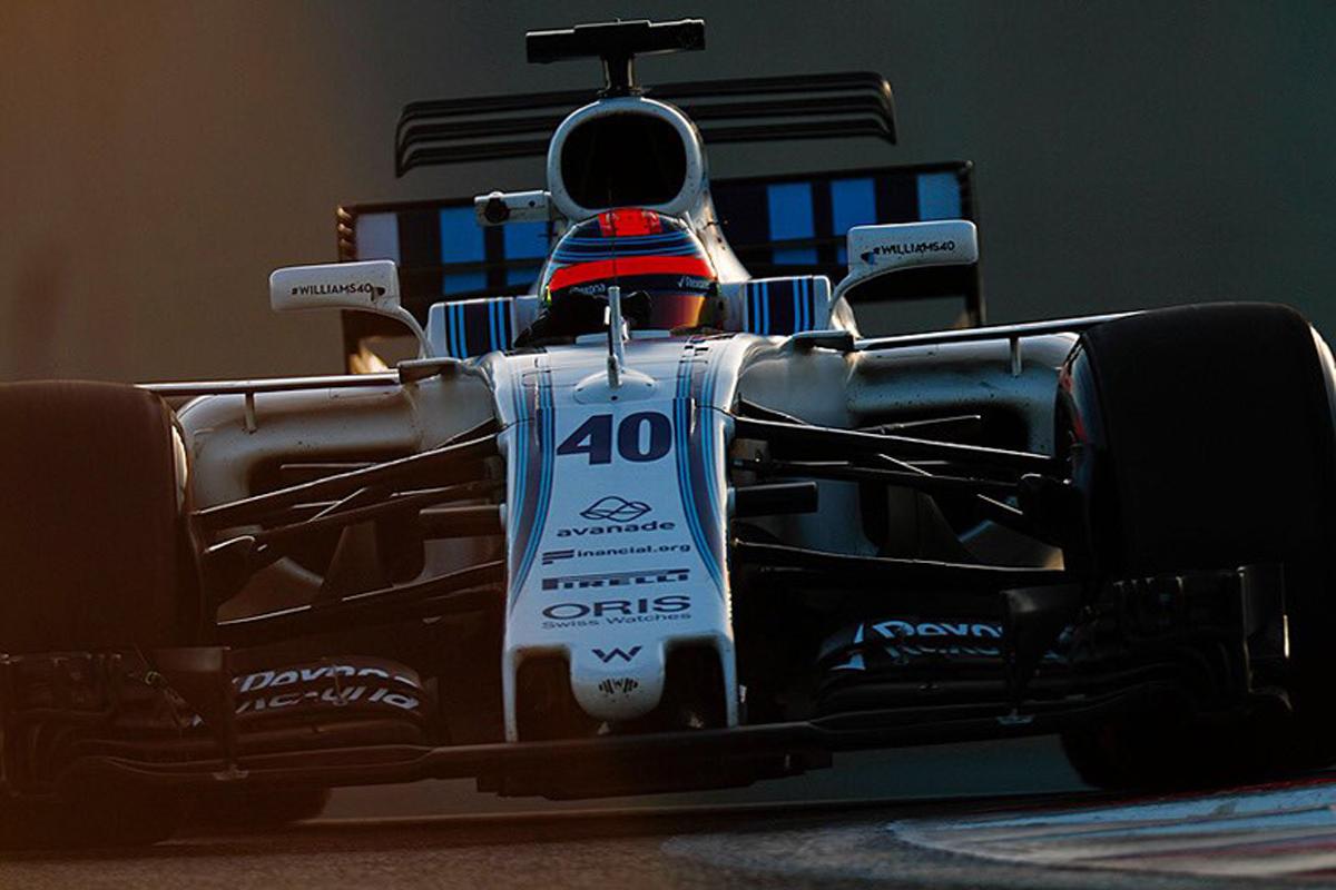 アブダビグランプリ ロバート・クビサ F1 ウィリアムズF1