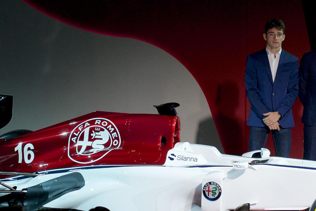 シャルル・ルクレール アルファロメオ ザウバー F1