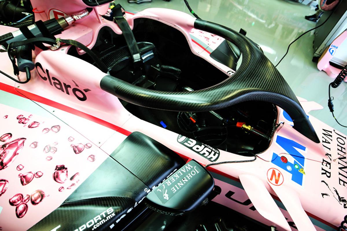 セルジオ・ペレス F1 Halo フォース・インディア