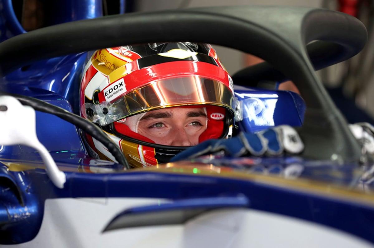 シャルル・ルクレール F1 アルファロメオ ザウバー