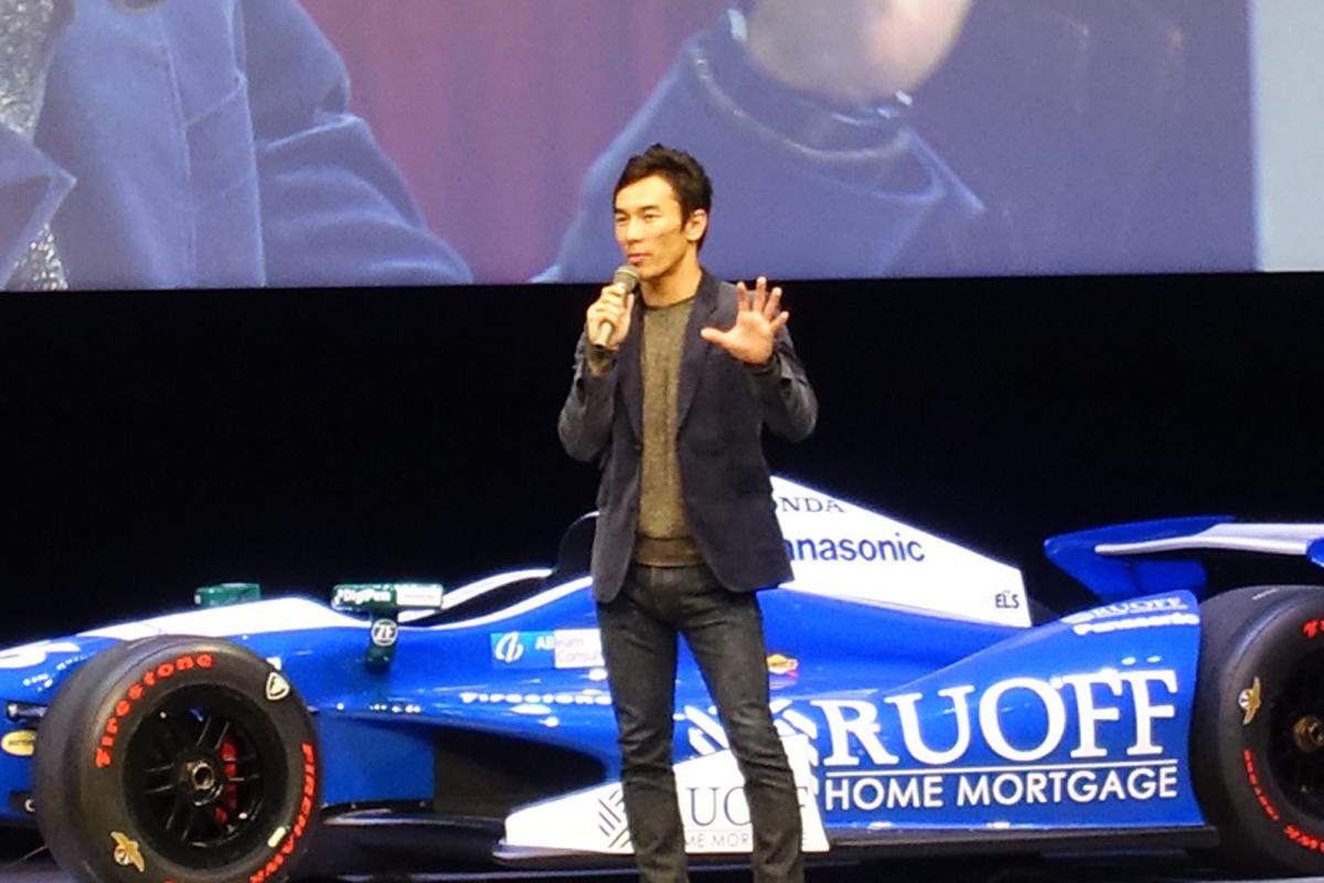 佐藤琢磨 インディ500 インディカーシリーズ