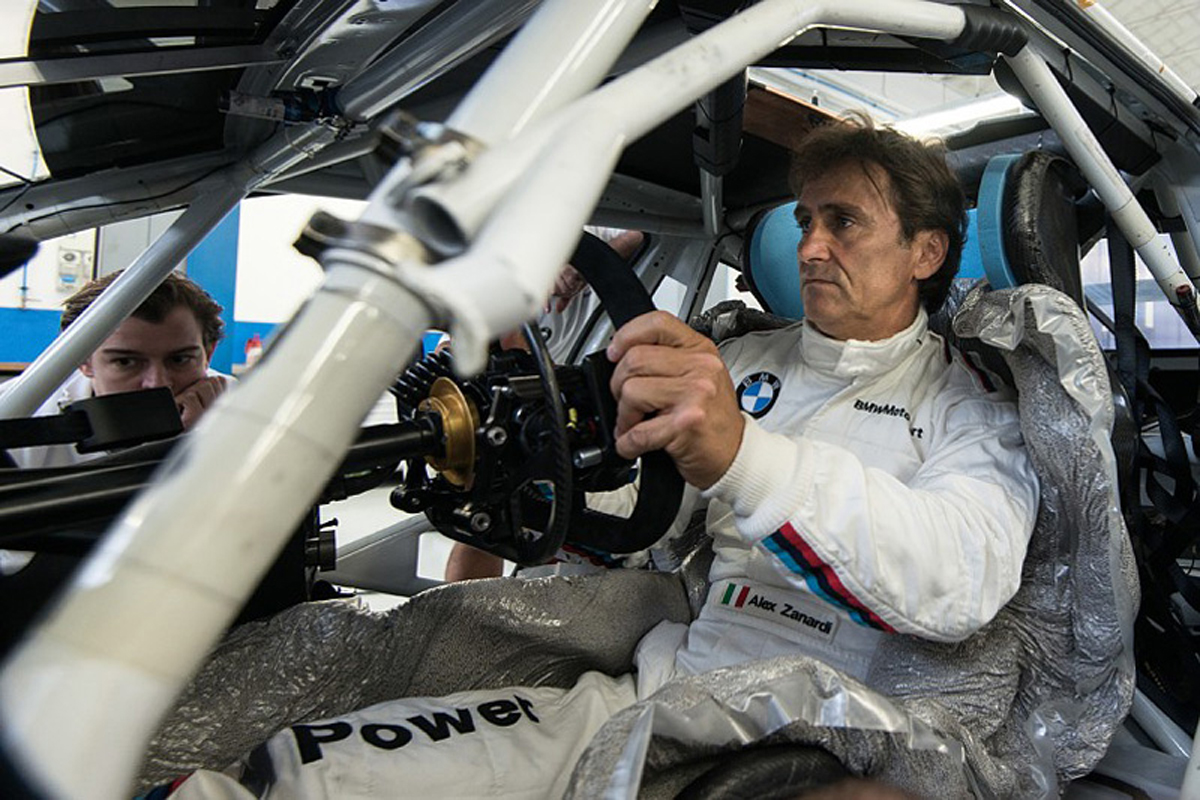 アレッサンドロ・ザナルディ デイトナ24時間レース BMW