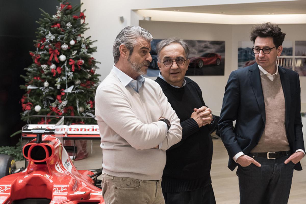 フェラーリ F1 リバティメディア スクーデリア・フェラーリ
