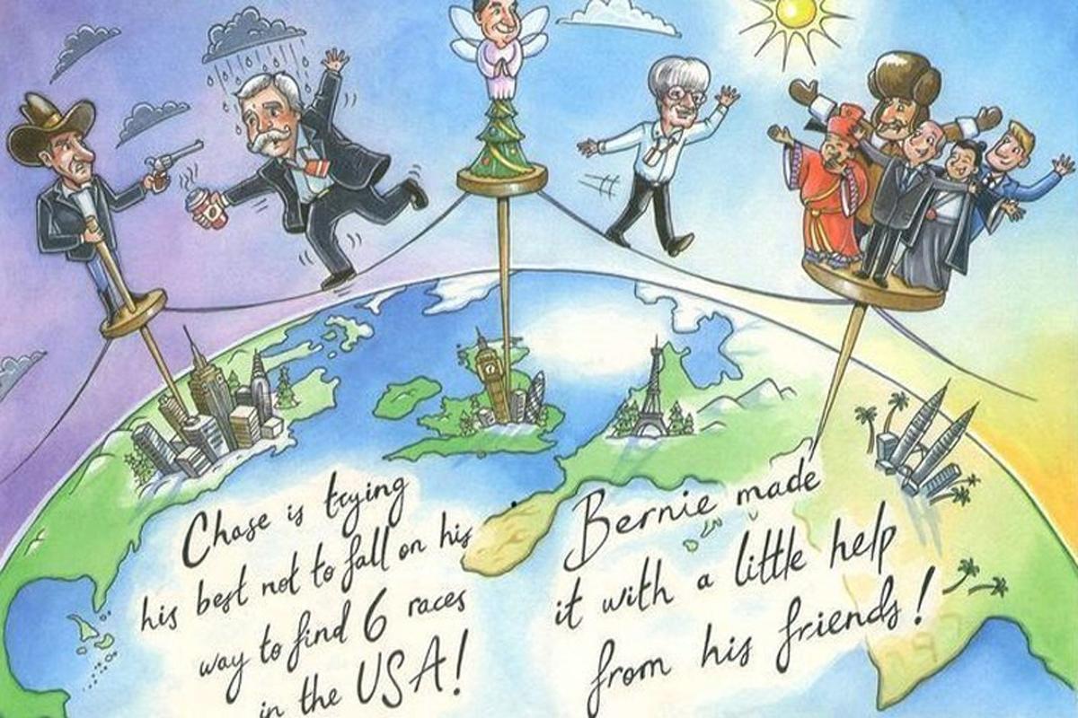 F1 バーニー・エクレストン クリスマスカード