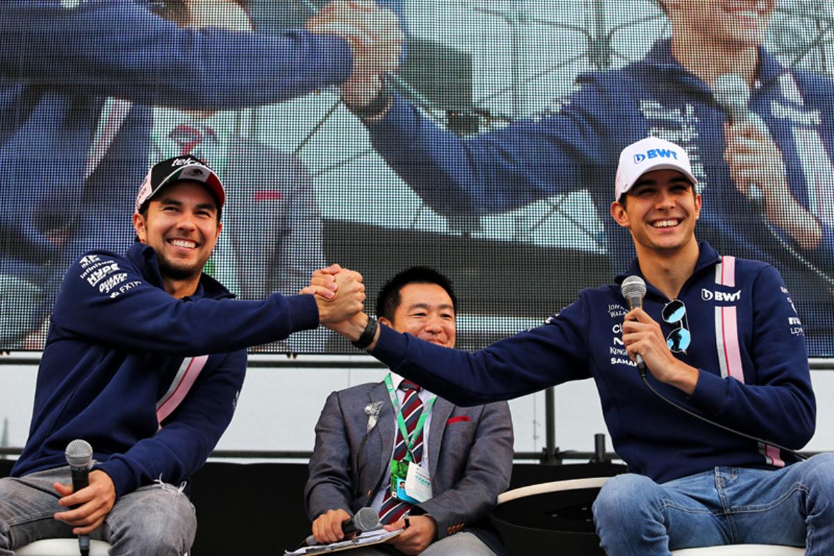 F1 エステバン・オコン フォース・インディア