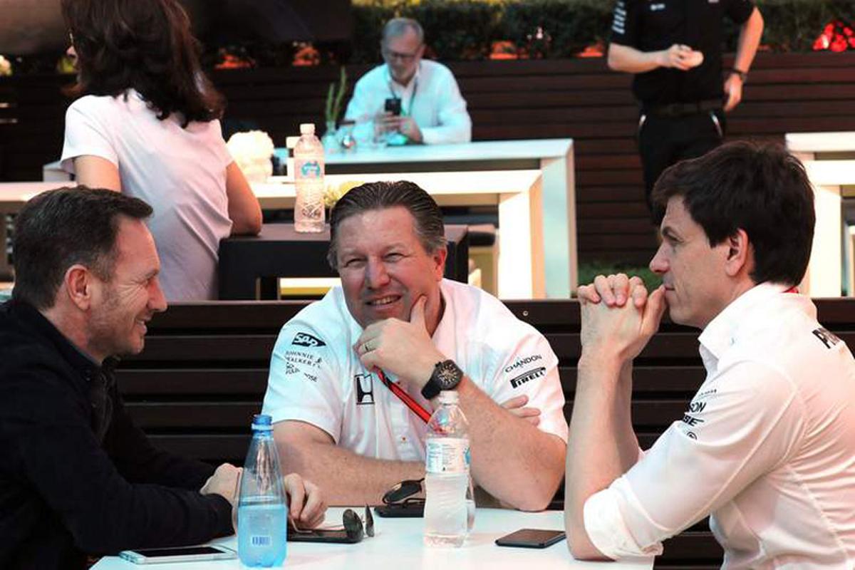 マクラーレン ホンダF1 メルセデスAMG F1