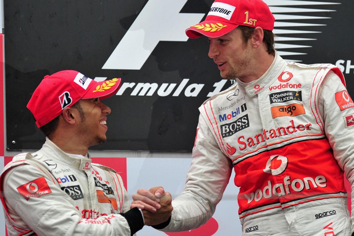 F1 ジェンソン・バトン ルイス・ハミルトン マクラーレン