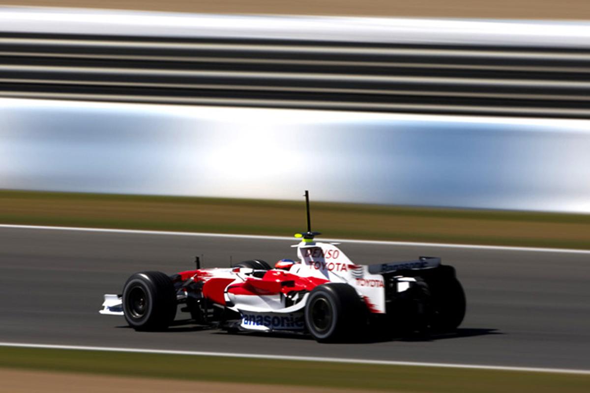 2008年 F1ヘレス合同テスト