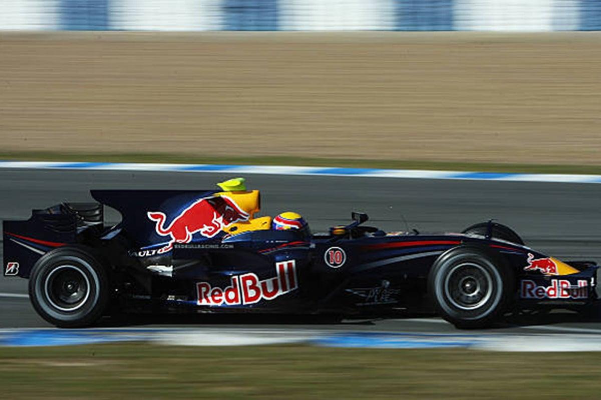 F1ヘレステスト2日目 マーク・ウェバー