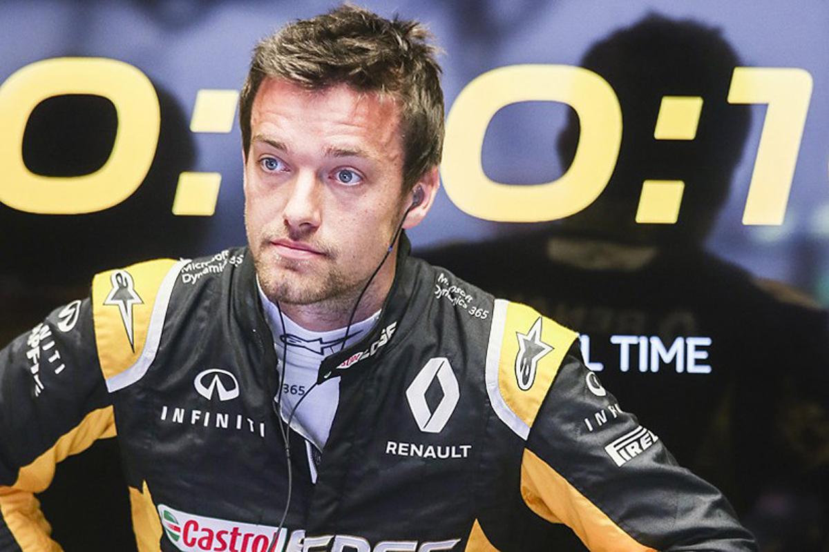 F1 ジョリオン・パーマー ルノーF1 フォーミュラE