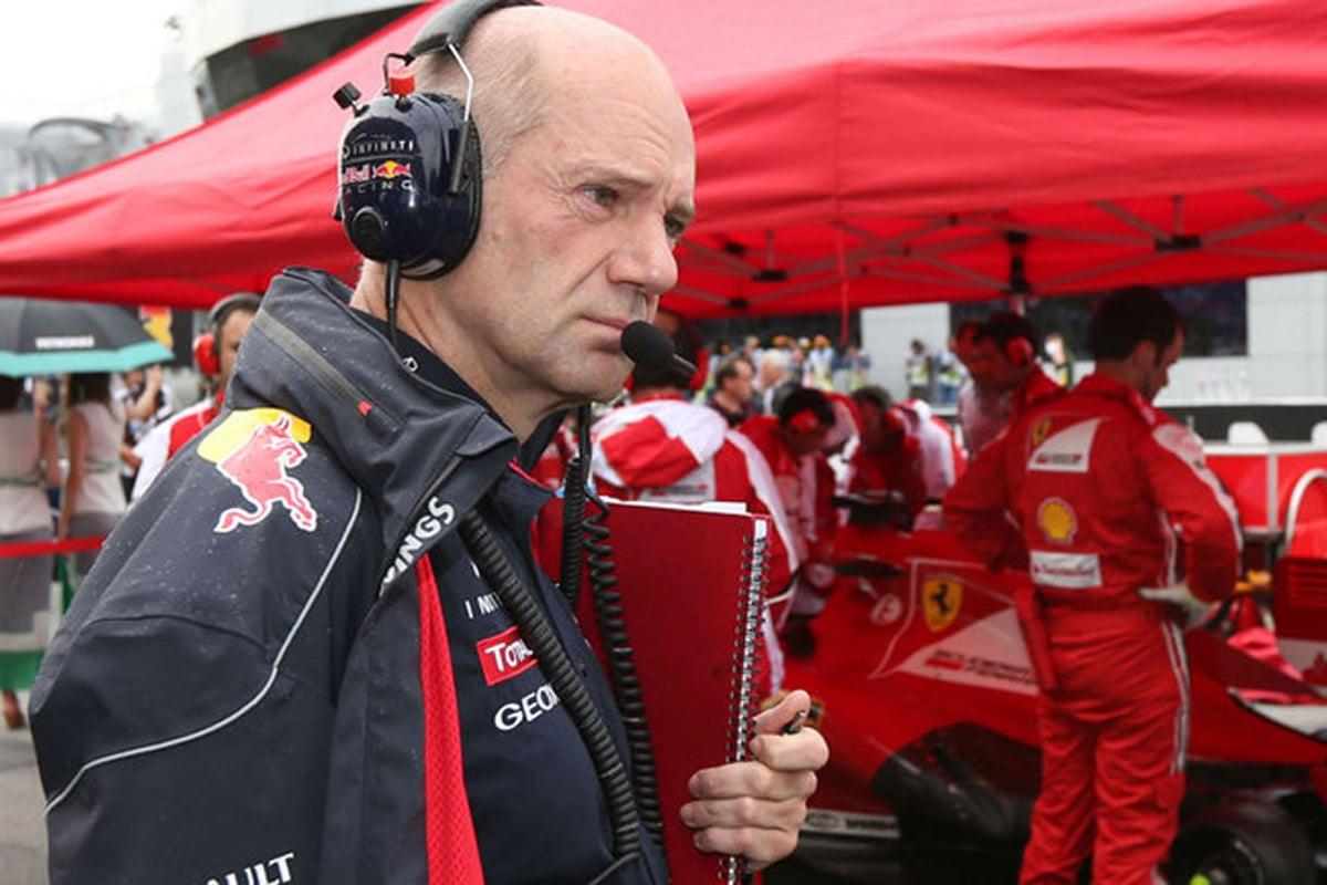 F1 エイドリアン・ニューウェイ フェラーリ レッドブル・レーシング