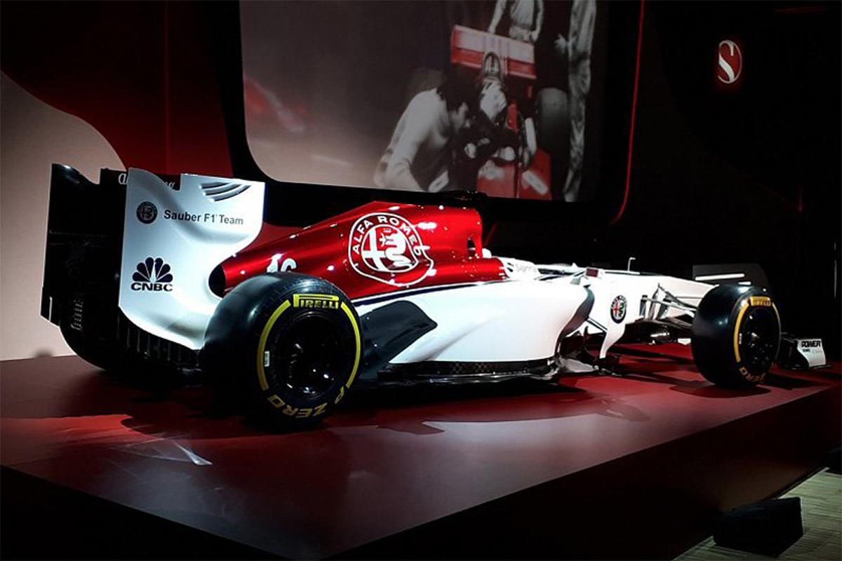 F1 アルファロメオ ザウバー