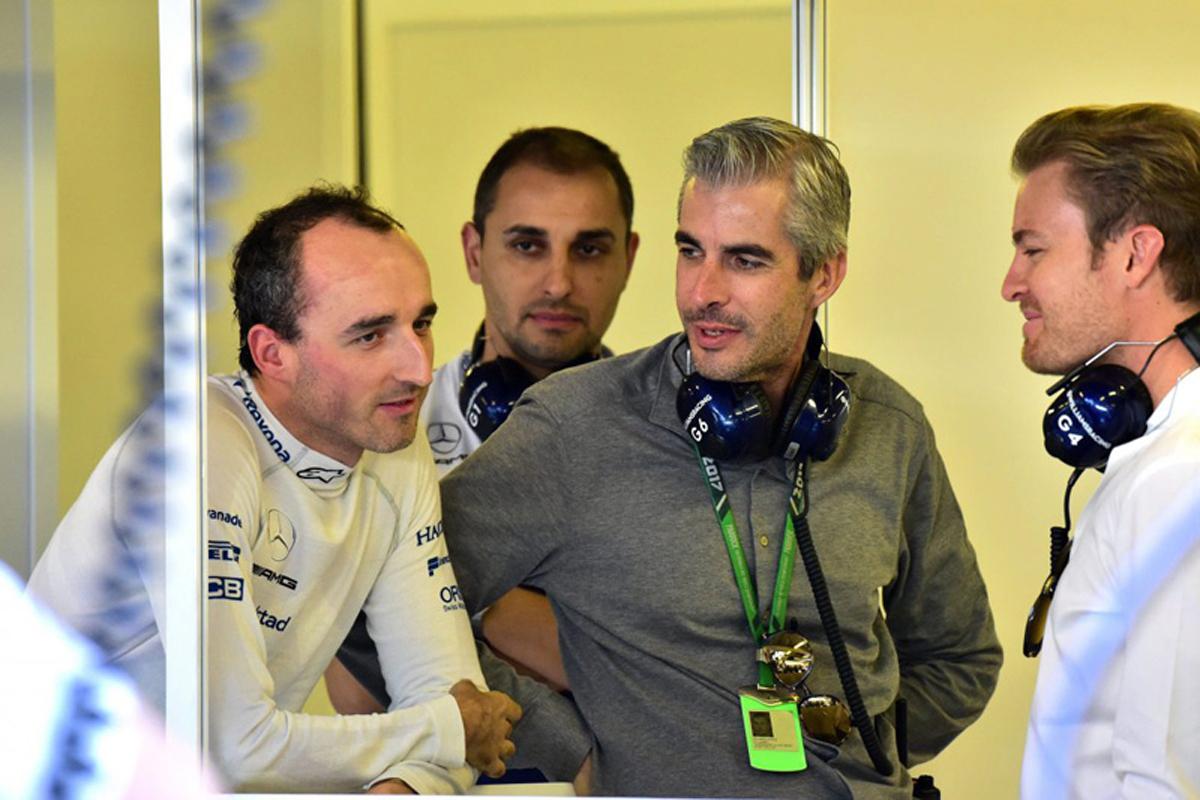 F1 ロバート・クビサ ニコ・ロズベルグ