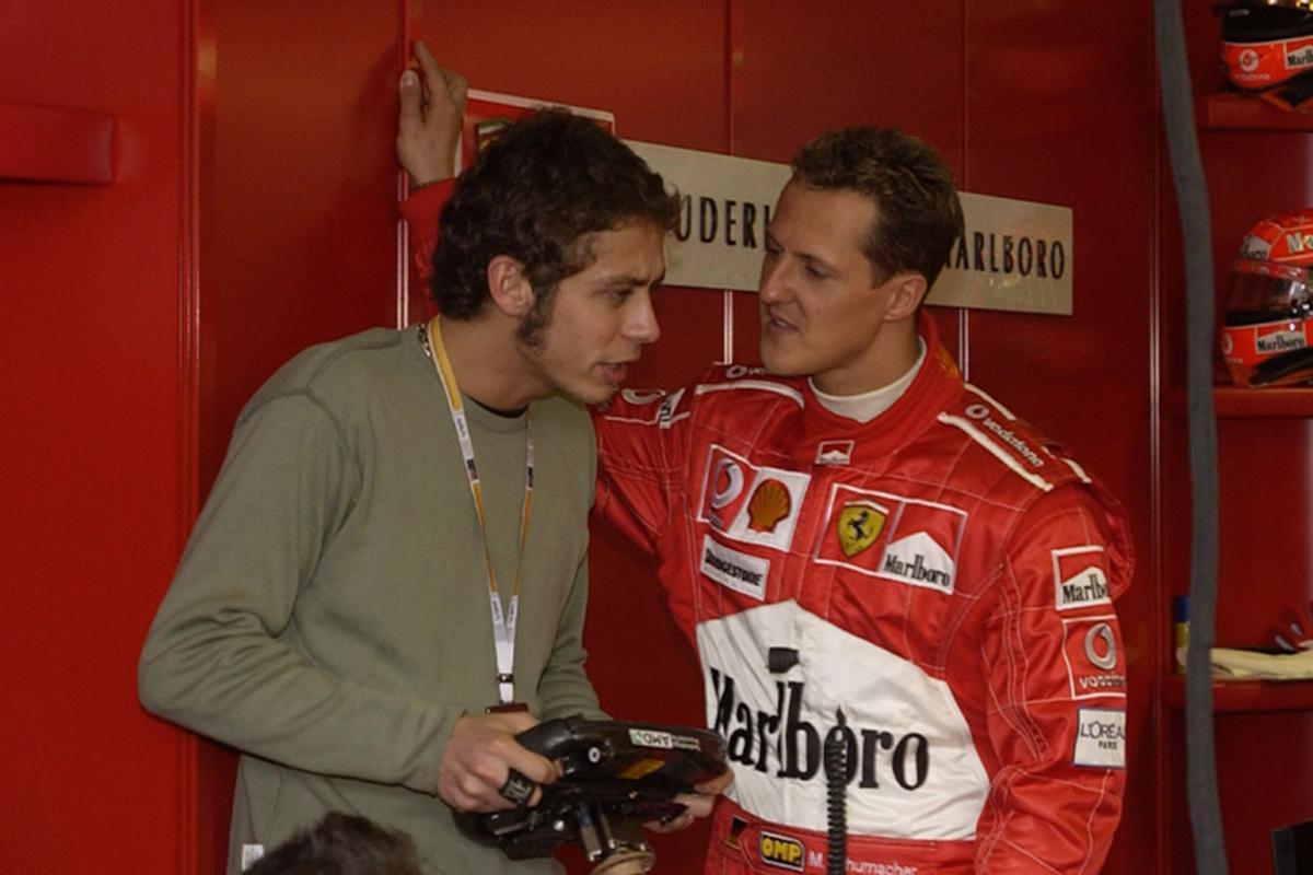 F1 バレンティーノ・ロッシ ミハエル・シューマッハ ロードレース世界選手権