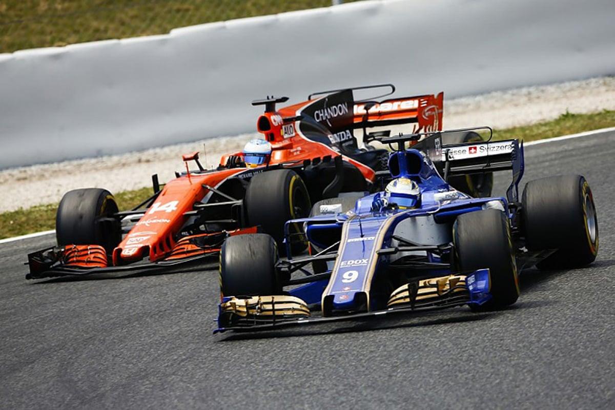 F1 ザウバー ホンダF1 マクラーレン