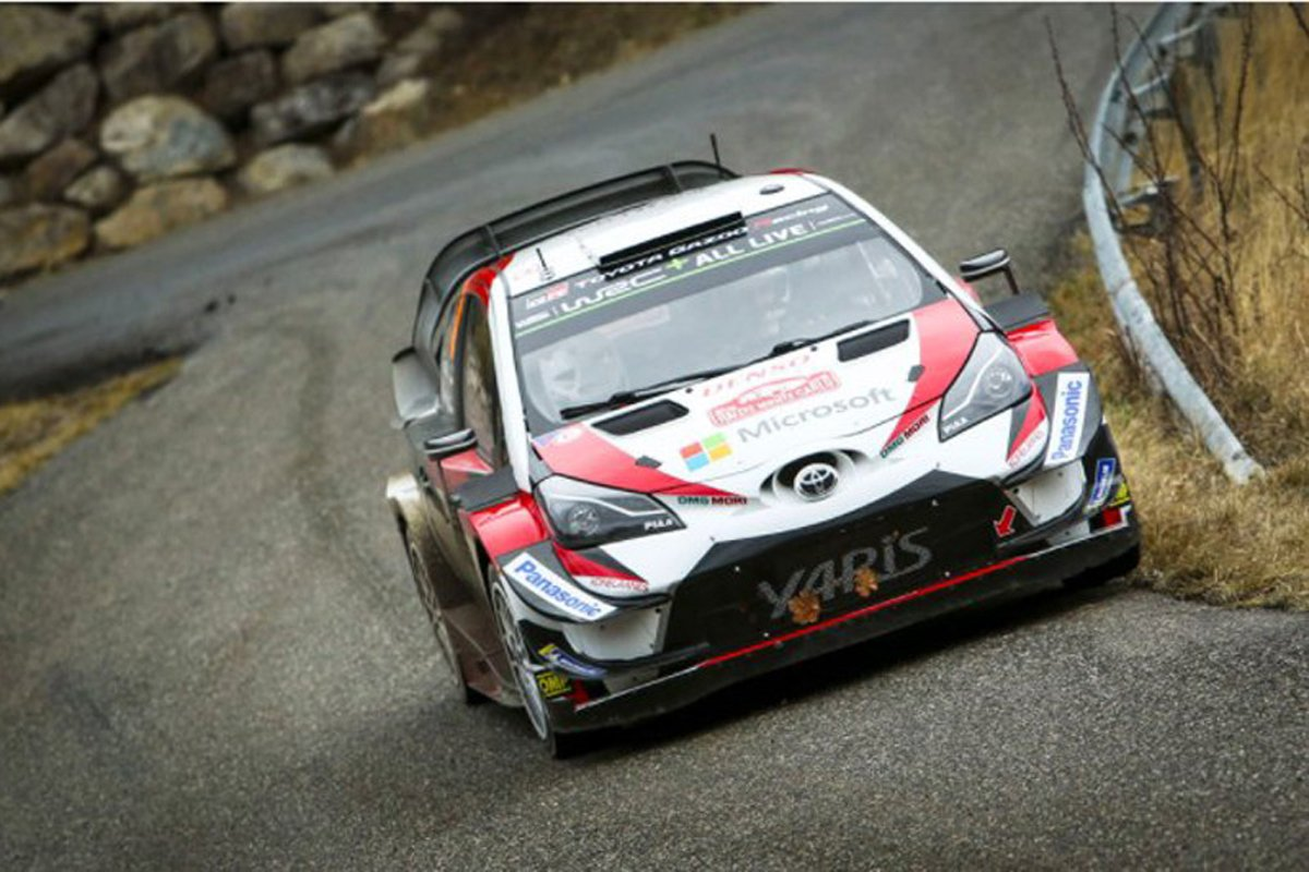世界ラリー選手権 オット・タナク トヨタ・ヤリスWRC トヨタ自動車