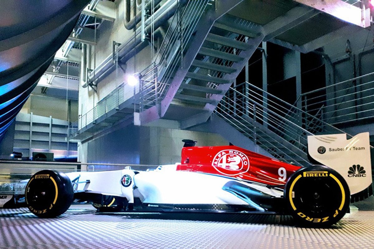 F1 アルファロメオ ザウバー フェラーリ