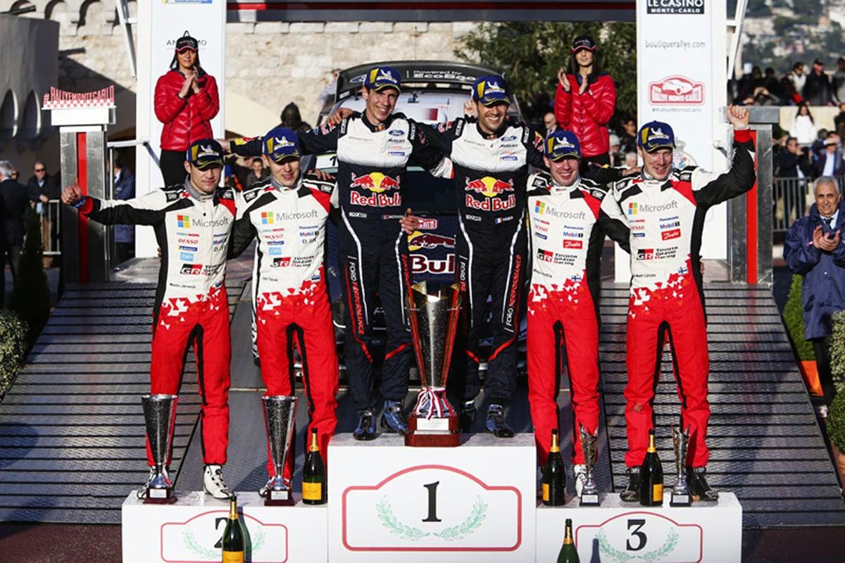 世界ラリー選手権 トヨタ・ヤリスWRC オット・タナク トヨタ自動車