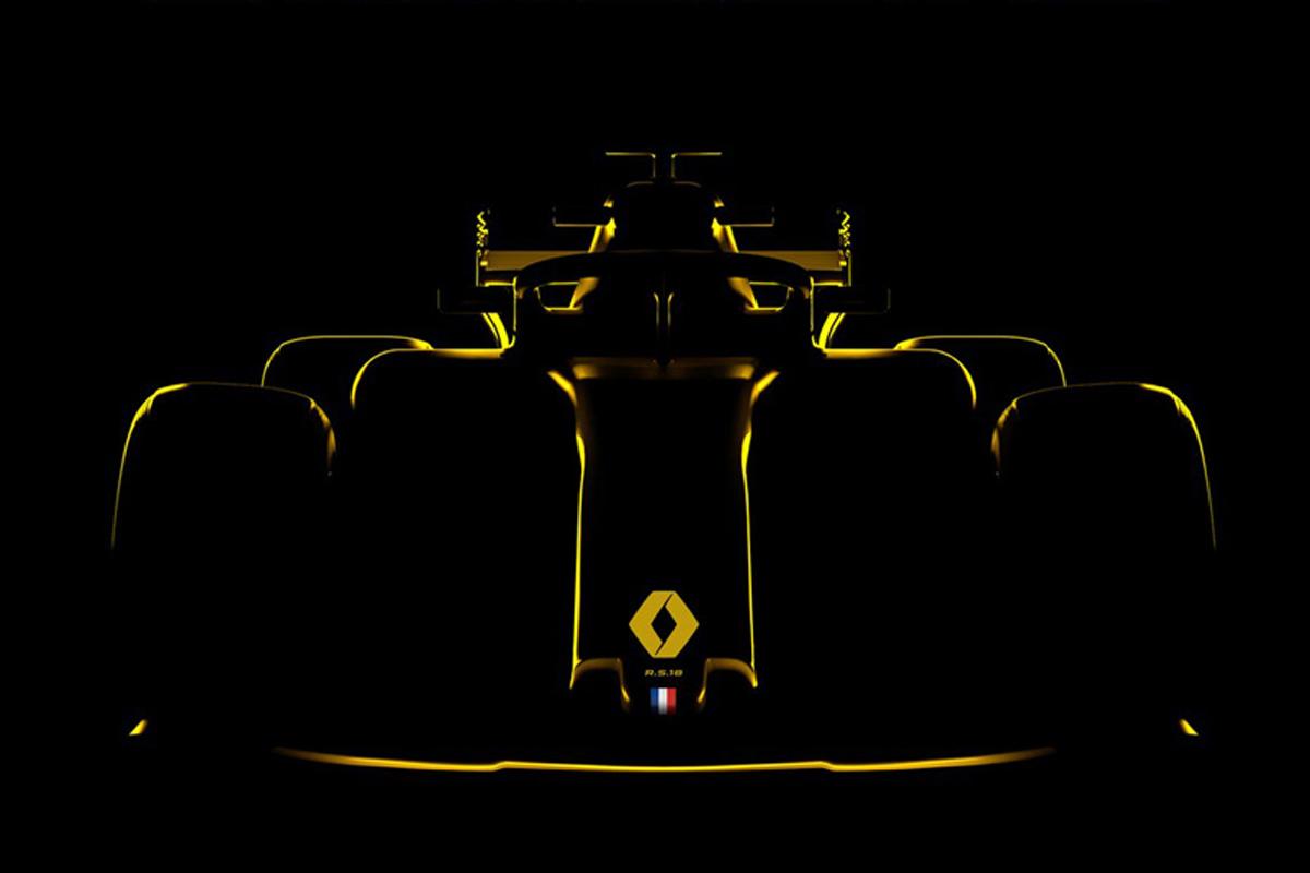 F1 ルノーF1 2018年のF1世界選手権