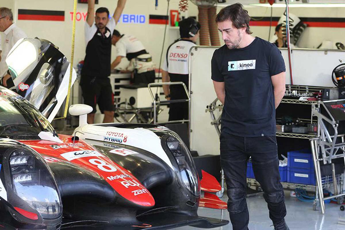 フェルナンド・アロンソ FIA 世界耐久選手権 トヨタ自動車 マクラーレン F1