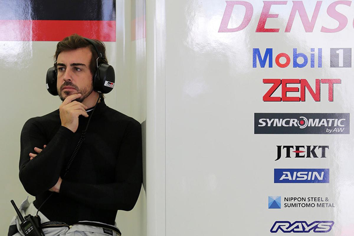 フェルナンド・アロンソ F1 マクラーレン FIA 世界耐久選手権