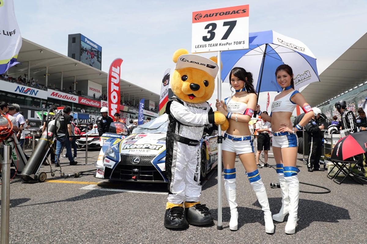 F1 グリッド リバティメディア レースクイーン