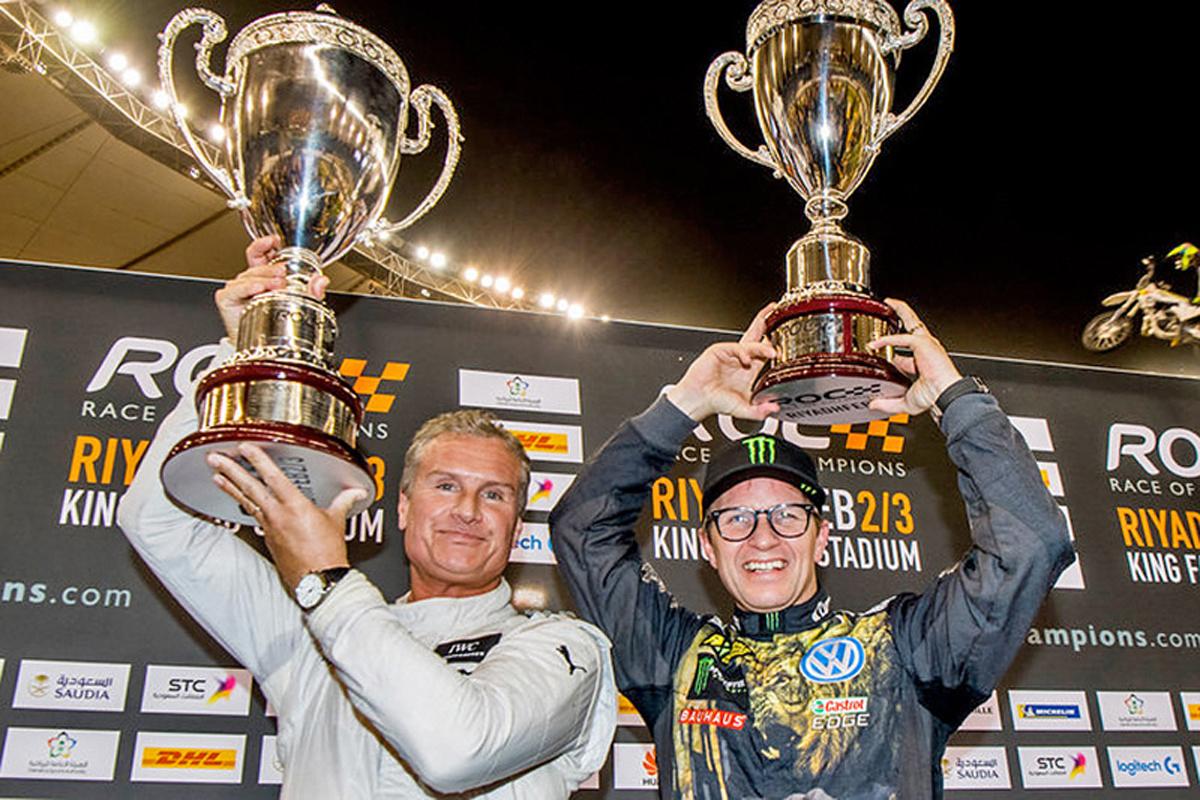レース・オブ・チャンピオンズ デビッド・クルサード F1