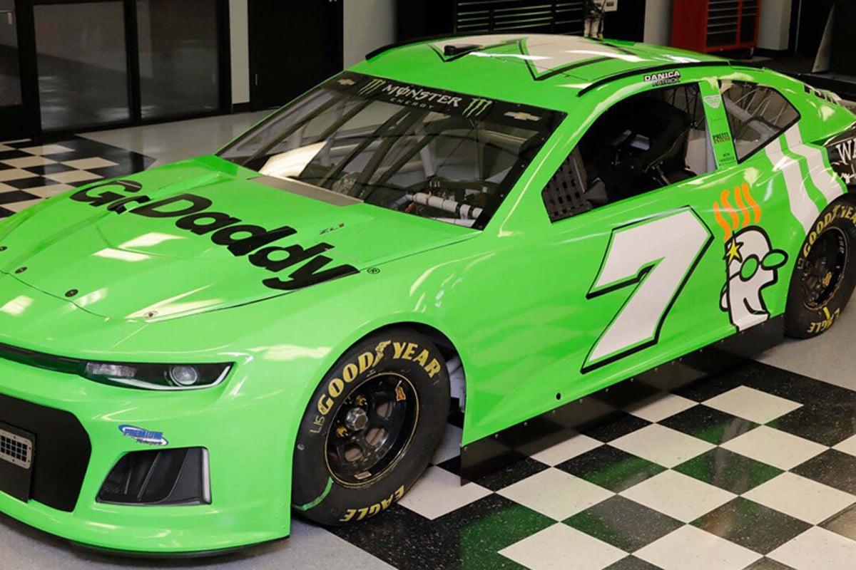 ダニカ・パトリック NASCAR デイトナ500