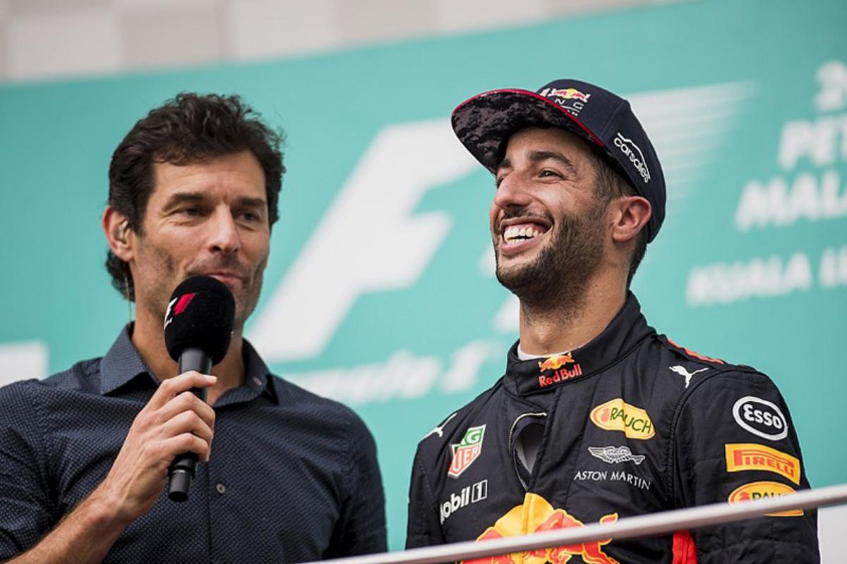 F1 レッドブル・レーシング ダニエル・リカルド マックス・フェルスタッペン