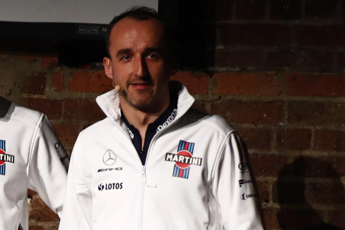 F1 ウィリアムズF1 ロバート・クビサ 2018年のF1世界選手権