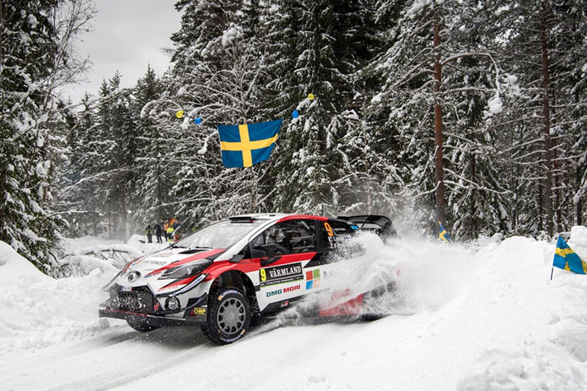 世界ラリー選手権 トヨタ自動車 オット・タナック ラリー・スウェーデン