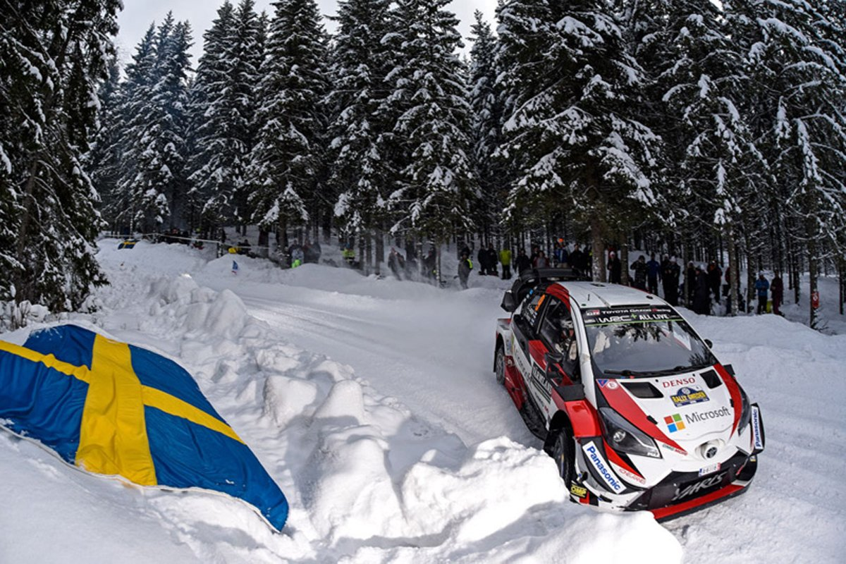 世界ラリー選手権 ラリー・スウェーデン トヨタ自動車