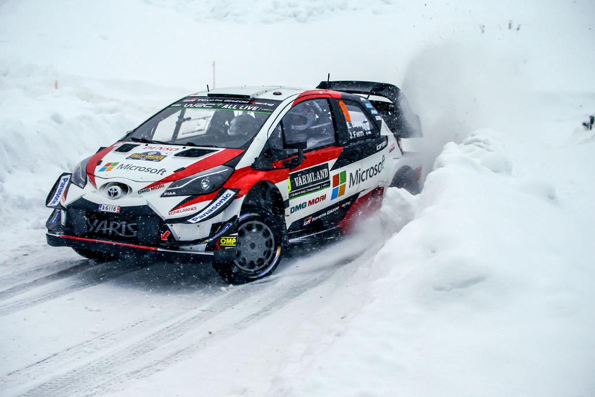 世界ラリー選手権 ヤリ=マティ・ラトバラ ラリー・スウェーデン トヨタ自動車