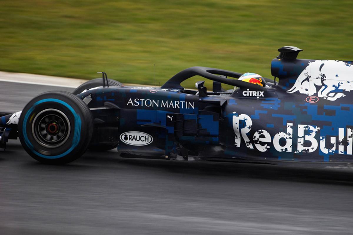 F1 レッドブル・レーシング 2018年のF1世界選手権 シルバーストーン・サーキット