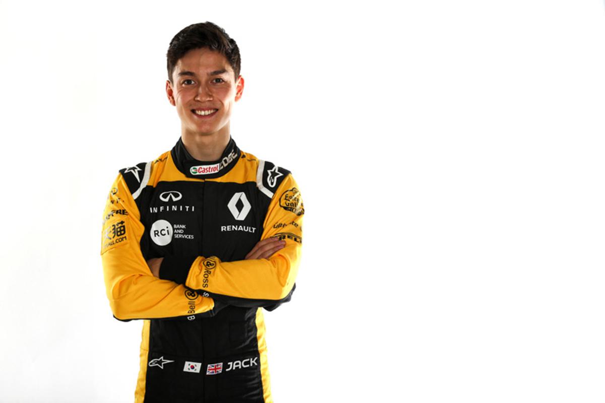F1 ルノーF1 ジャック・エイトケン