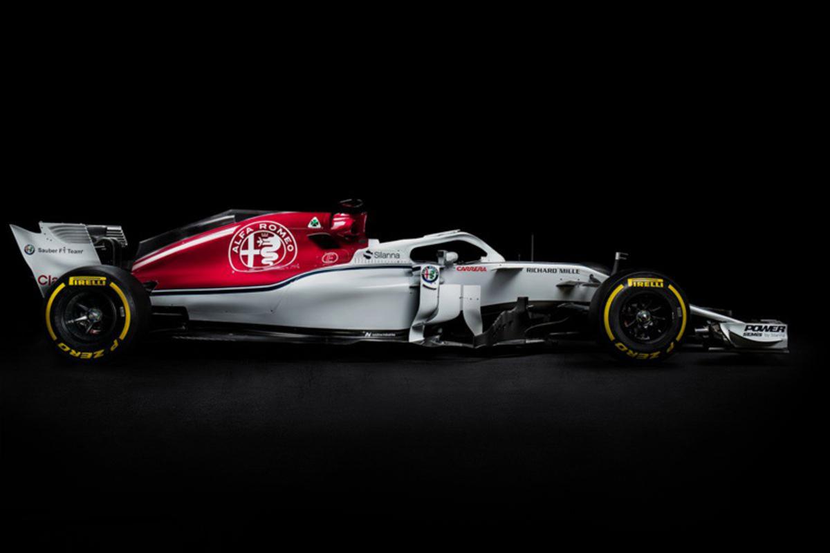 F1 ザウバー フェラーリ 2018年のF1世界選手権