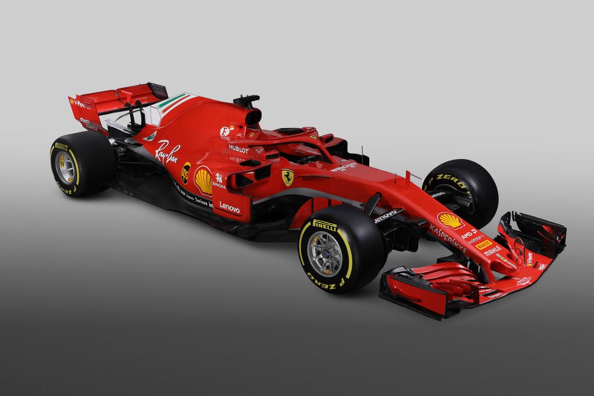 フェラーリ SF71H 画像