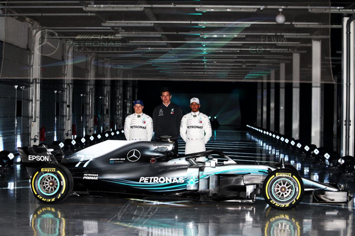 F1 メルセデスAMG F1 2018年のF1世界選手権