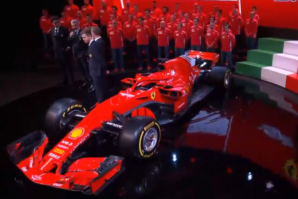 フェラーリ 2018年 SF71H