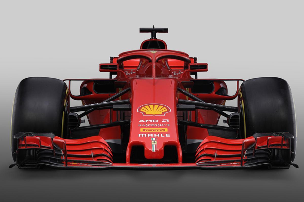 フェラーリ SF71H (フロント)