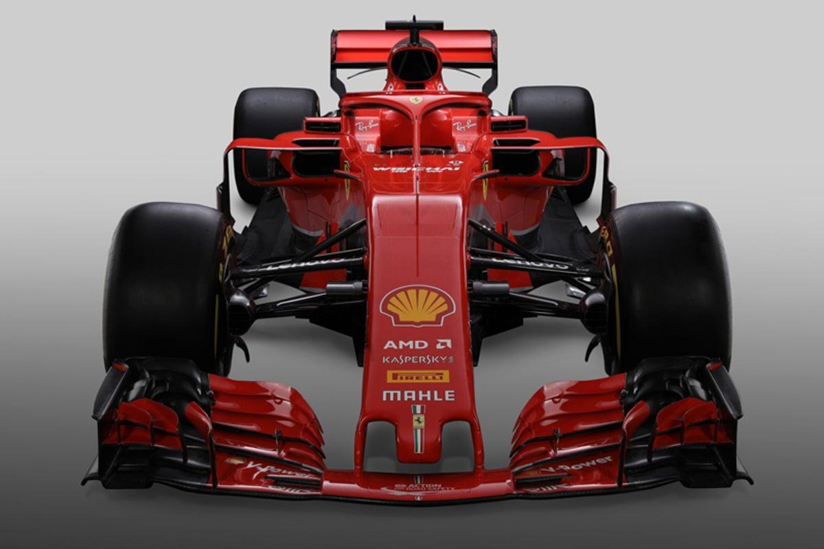 フェラーリ SF71H (前面)