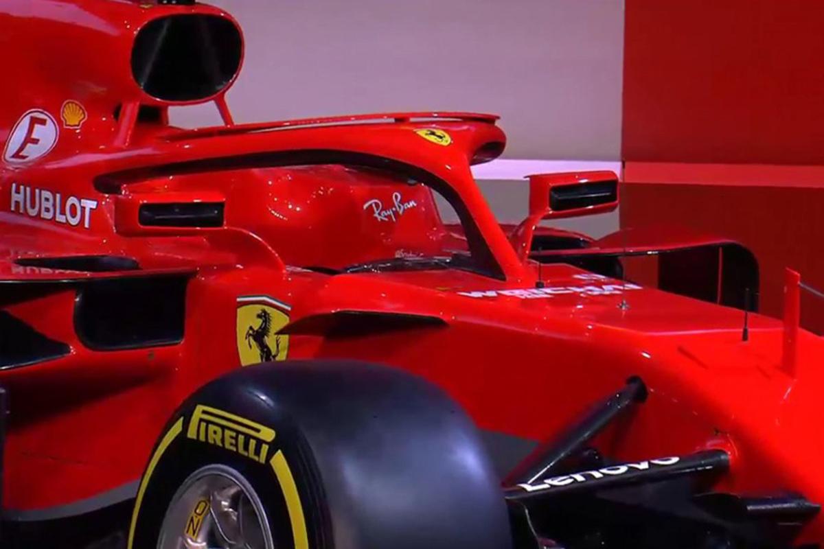 フェラーリ SF71H Halo