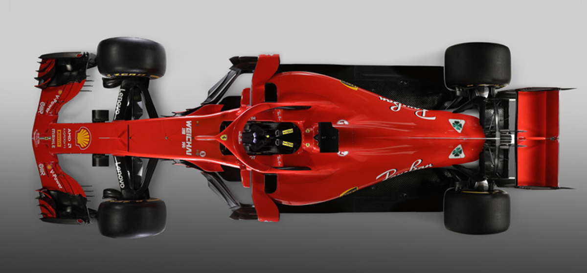 フェラーリ SF71H (トップ)