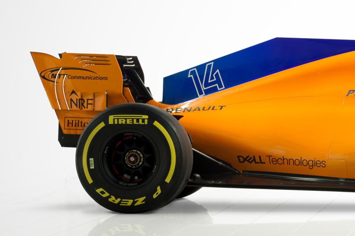 マクラーレン MCL33 (エンジンカバー&リア周り)