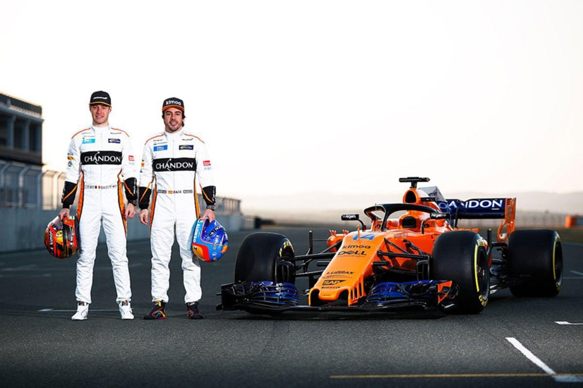F1 マクラーレン ルノーF1 2018年のF1世界選手権