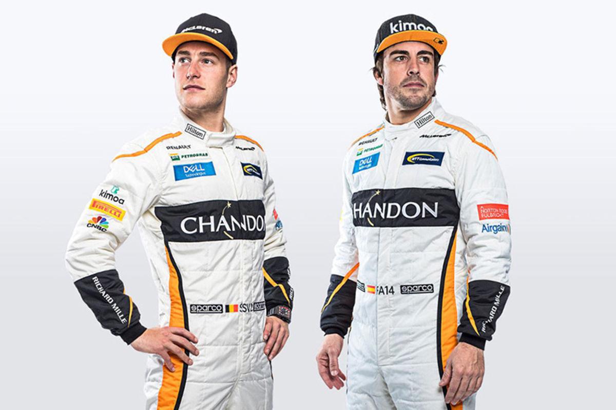マクラーレン 2018年 レーシングスーツ