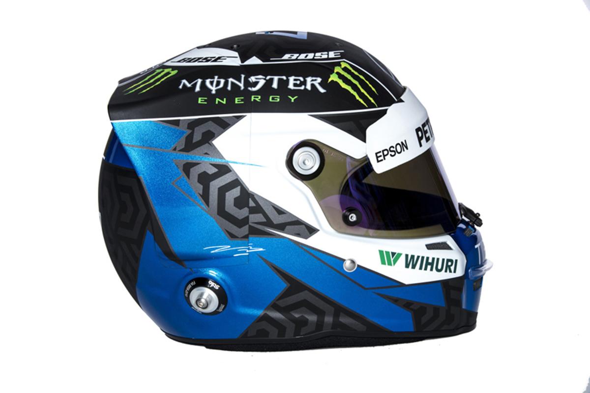 バルテリ・ボッタス F1ヘルメット (2018年)